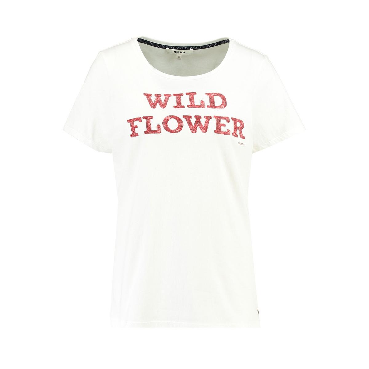 t shirt met tekst h90203 garcia t-shirt 53 off white