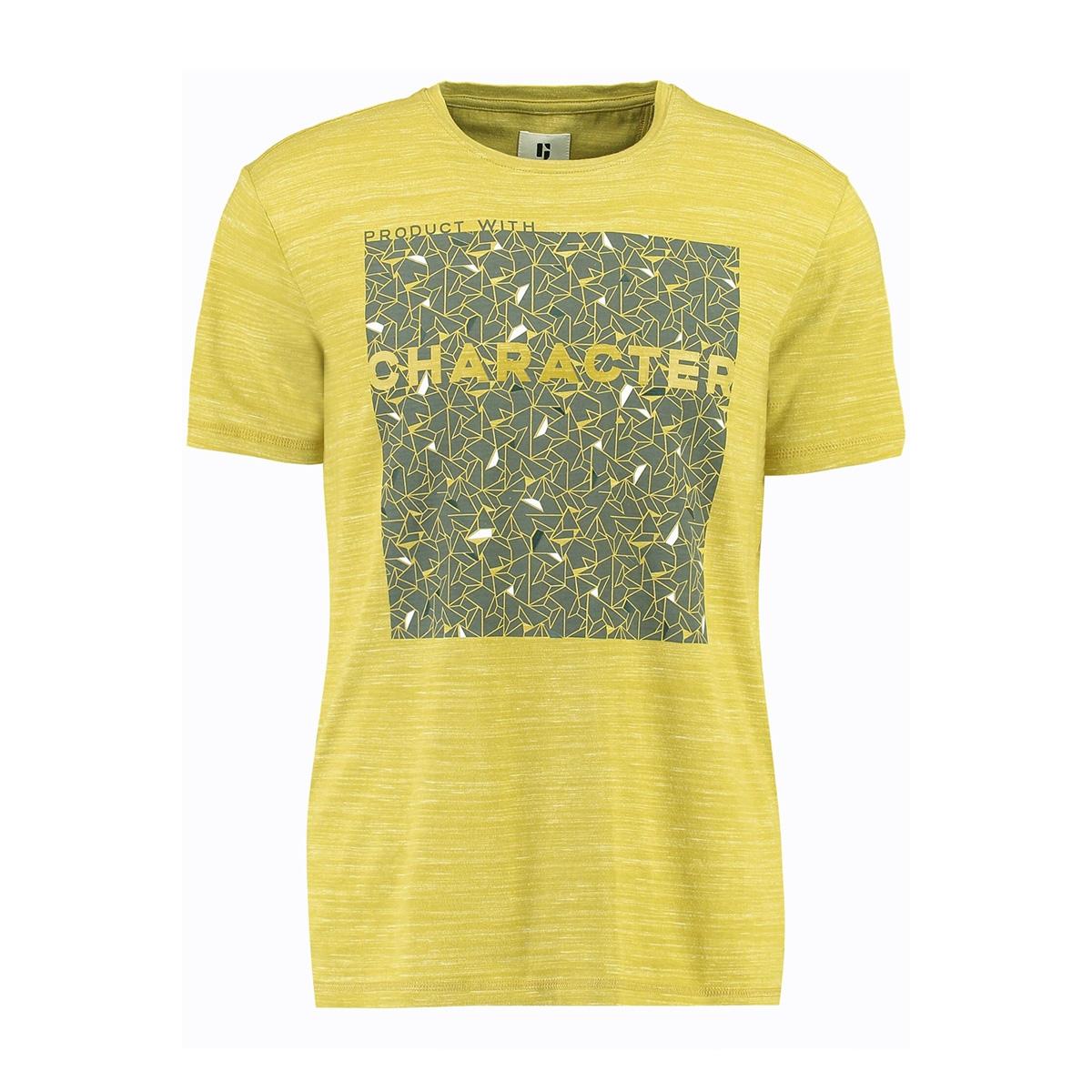 t shirt met print h91208 garcia t-shirt 2911 golden olive