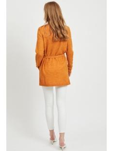 vivikka l/s knit belt cardigan 14054340 vila vest golden oak / melange