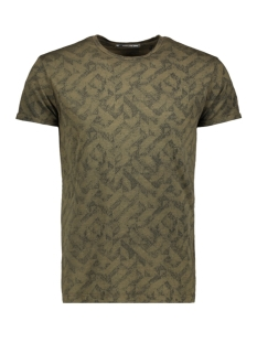 NO-EXCESS T-shirt ALL OVER PRINTED T SHIRT 92340701 059 DK ARMY