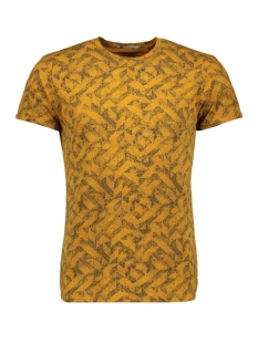 NO-EXCESS T-shirt ALL OVER PRINTED T SHIRT 92340701 074 OCRE