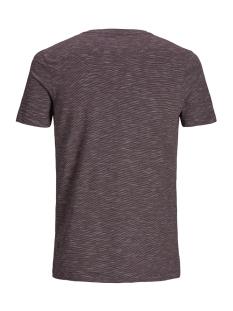 jcomick tee ss crew neck noos 12152172 jack & jones t-shirt fudge/slim