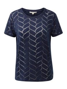 Tom Tailor T-shirt T SHIRT GEMAAKT VAN KANT 1013655XX71 10360