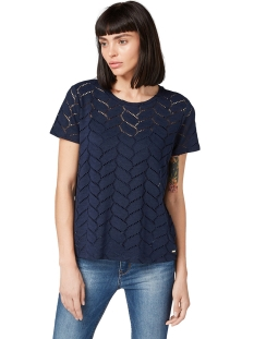 t shirt gemaakt van kant 1013655xx71 tom tailor t-shirt 10360