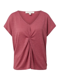Tom Tailor T-shirt T SHIRT MET KNOOPDETAIL 1013466XX71 19397