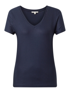 geribbeld t shirt 1013411xx71 tom tailor t-shirt 10360