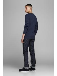 jprrichard knit crew neck 12155363 jack & jones trui navy blazer