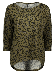 vmmalena 3/4 blouse exp color 10206886 vero moda trui ivy green/ annie