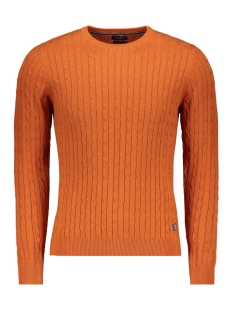 Jack & Jones Trui JPRRICHARD KNIT CREW NECK 12155363 Cinnamon Stick/Melange