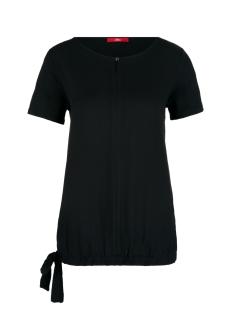 s.Oliver T-shirt T SHIRT MET STRIK DETAIL 14908328316 9999