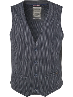 NO-EXCESS Gilet JAQUARD JERSEY GILET ONLINED 92640702 078 Night