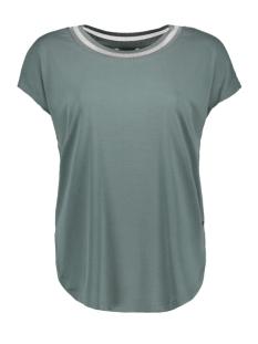 Sandwich T-shirt T SHIRT MET GESTREEPTE BIES 21101736 50044
