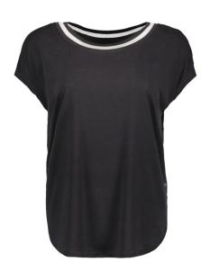 Sandwich T-shirt T SHIRT MET GESTREEPTE BIES 21101736 80028