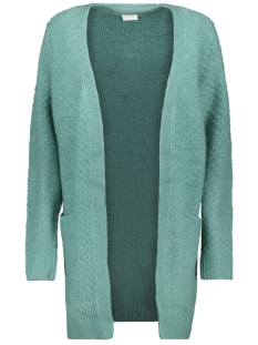 Vila Vest VIINFI KNIT CARDIGAN - FAV 14053365 Oil Blue/MELANGE