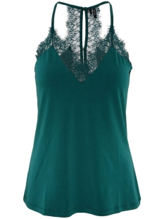 Vero Moda Top VMMILLA S/L LACE TOP COLOR 10209420 Ponderosa Pine