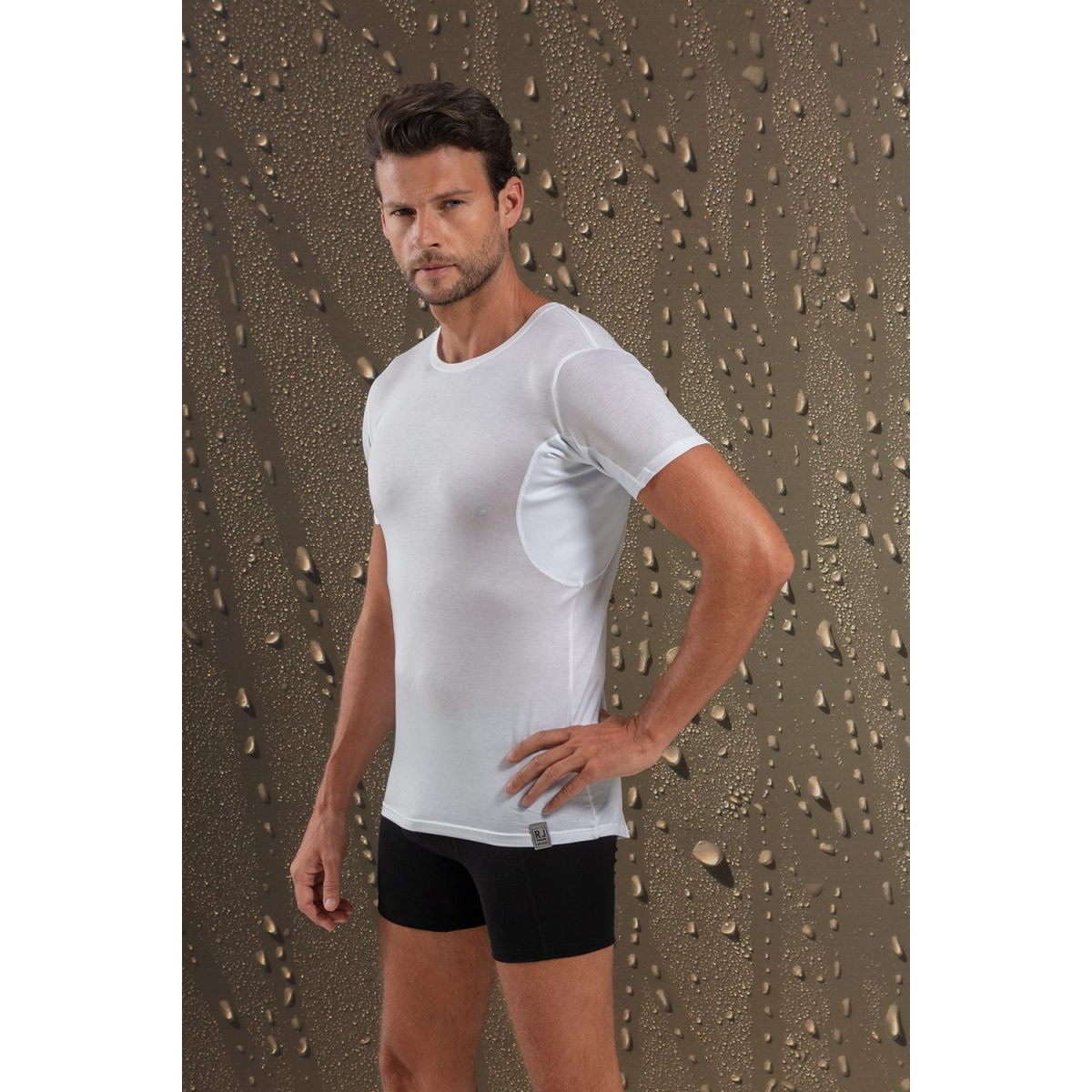helsinki sweatproof rj bodywear t-shirt wit
