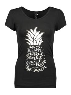 IZ NAIZ T-shirt T SHIRT ANANAS 3369 BLACK