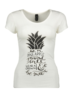 IZ NAIZ T-shirt T SHIRT ANANAS 3369 WHITE
