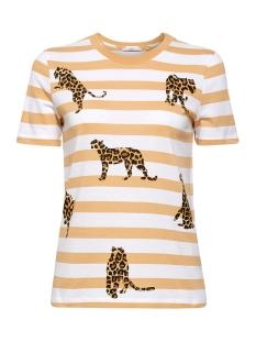 EDC T-shirt GESTREEPT SHIRT MET ANIMAL PRINT 069CC1K070 C110