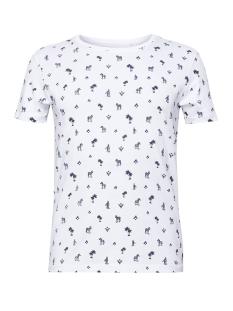 EDC T-shirt T SHIRT MET ALL OVER PRINT 059CC2K018 C100