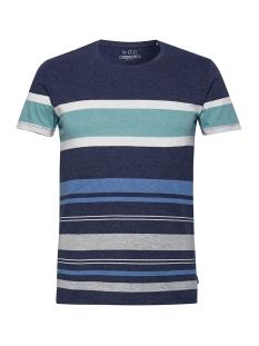 EDC T-shirt JERSEY SHIRT MET STREPEN 069CC2K031 C400