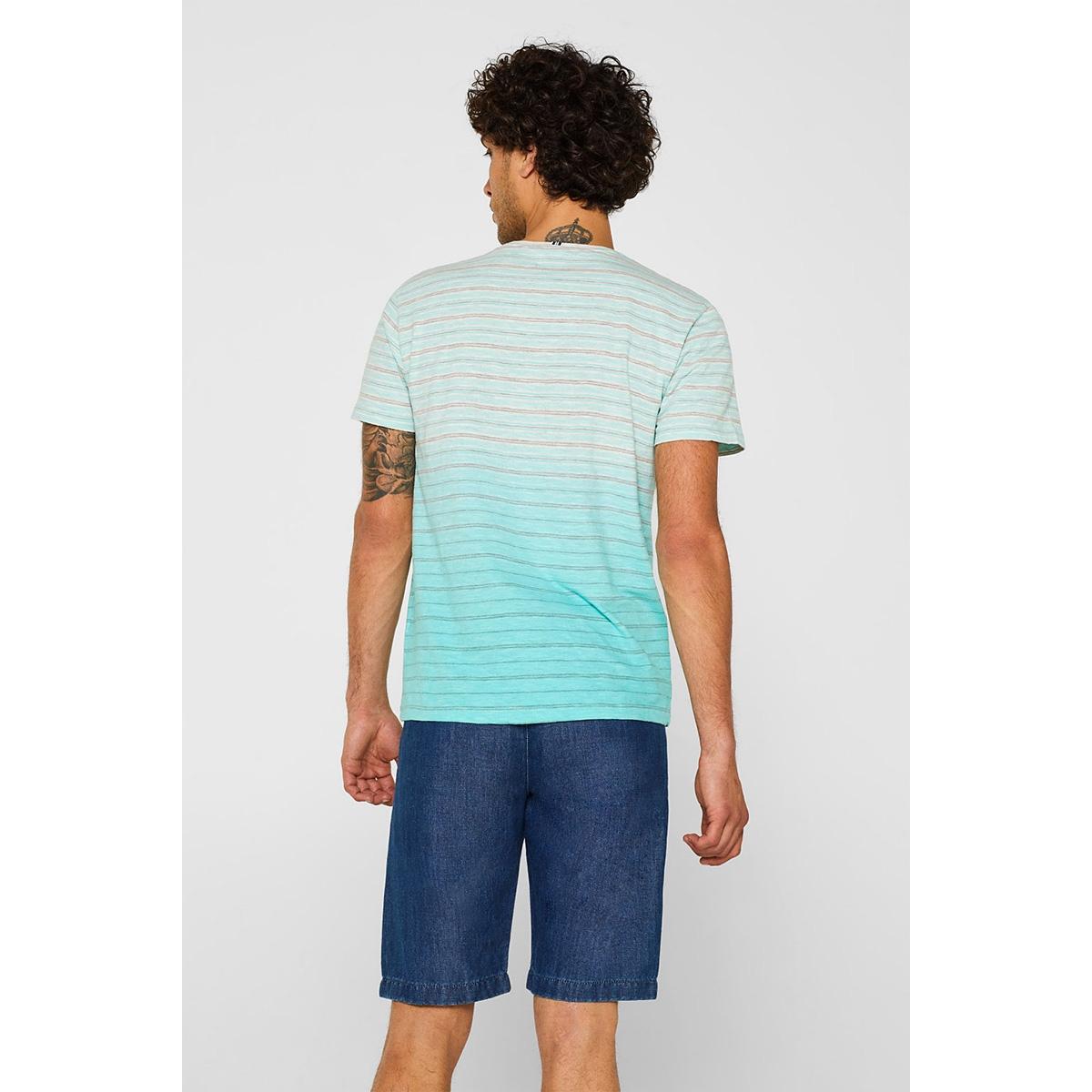 jersey shirt met kleurverloop 059ee2k011 esprit t-shirt e390
