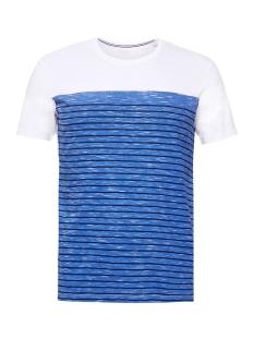Esprit T-shirt JERSEY SHIRT MET STREPEN 059EE2K025 E400