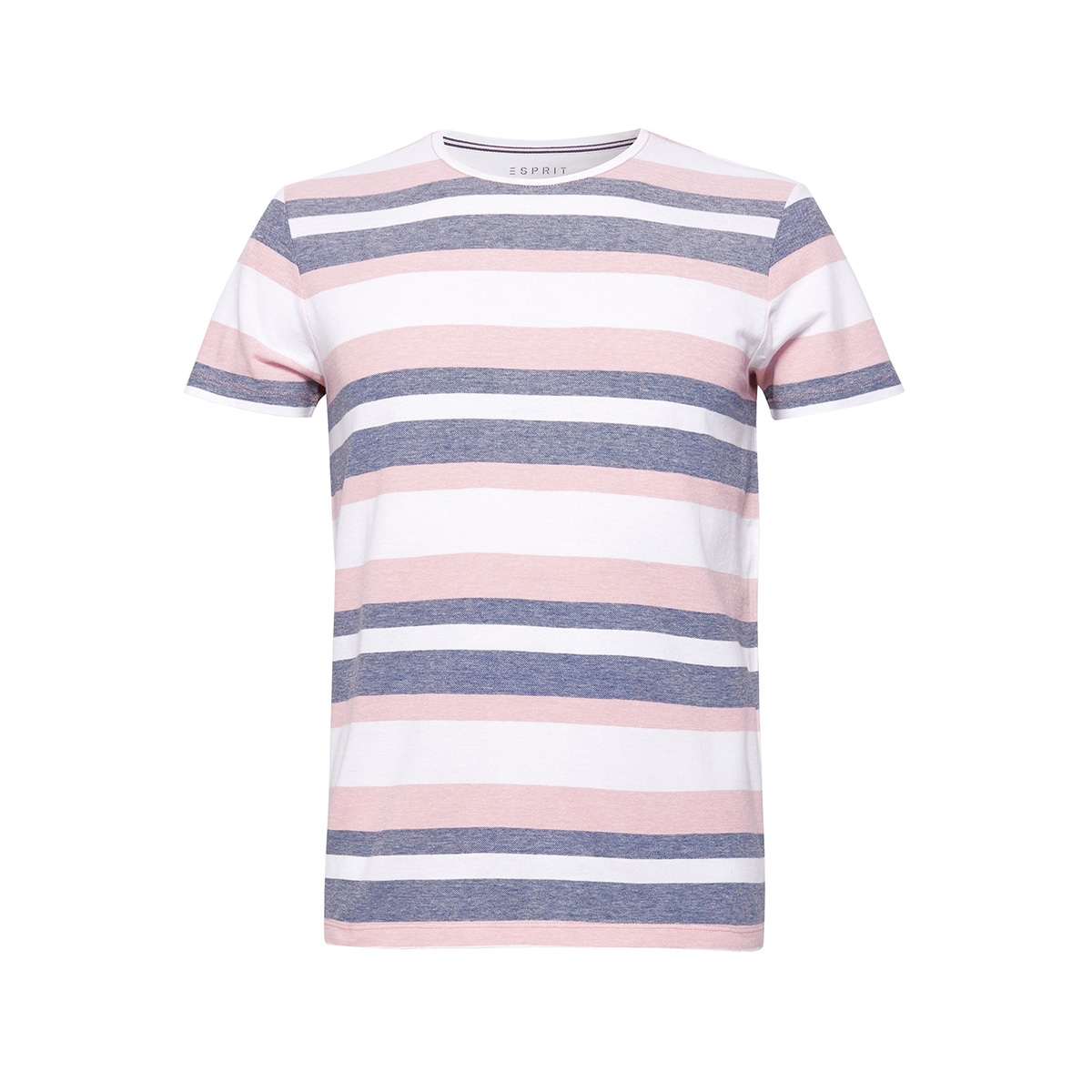 pique shirt met strepen 059ee2k032 esprit t-shirt e665