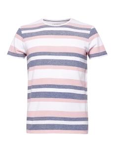 Esprit T-shirt PIQUE SHIRT MET STREPEN 059EE2K032 E665