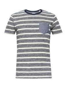 jersey shirt met strepen 069ee2k007 esprit t-shirt e110