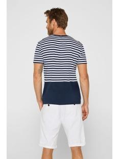jersey shirt met strepen 069ee2k023 esprit t-shirt e400