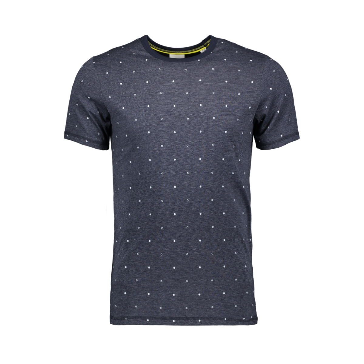 jcohex tee ss crew neck 12159080 jack & jones t-shirt sky captain/mel. slim