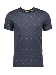 Jack & Jones T-shirt JCOHEX TEE SS CREW NECK 12159080 Sky Captain/MEL. SLIM