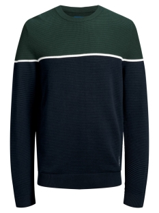 Jack & Jones Trui JORBRIT KNIT CREW NECK 12159079 Sea Moss/KNIT FIT