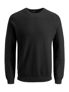 Jack & Jones Trui JPRPOST KNIT CREW NECK STS 12141495 Black