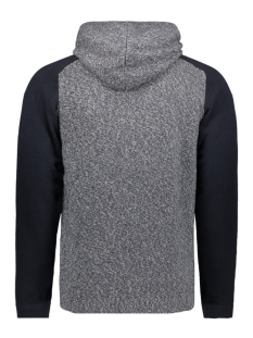 jcomix knit hood cardigan 12157836 jack & jones vest sky captain/melange body
