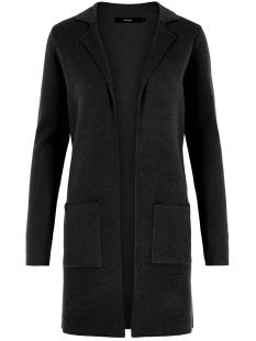 Vero Moda Vest VMTASTY FULLNEEDLE LS NEW COATIGAN 10215659 Black