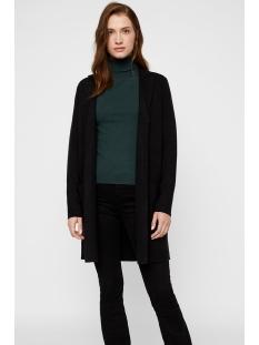 vmtasty fullneedle ls new coatigan 10215659 vero moda vest black