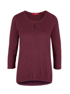 s.Oliver T-shirt T SHIRT MET DRIEKWART MOUW 14909392691 4906