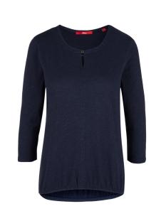 s.Oliver T-shirt T SHIRT MET DRIEKWART MOUW 14909392691 5959