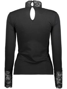 vmmaya l/s lace top ga vo 10218908 vero moda t-shirt black