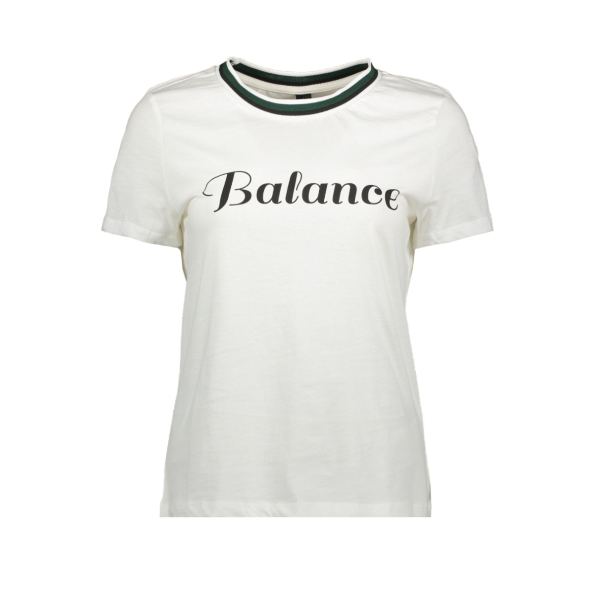 vmfaye francis ss top box ga jrs 10221780 vero moda t-shirt snow white/blance w.