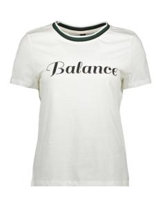 Vero Moda T-shirt VMFAYE FRANCIS SS TOP BOX GA JRS 10221780 Snow White/BLANCE W.