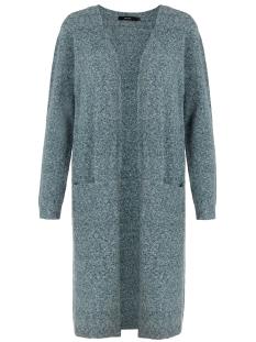 Vero Moda Vest VMDOFFY LS LONG OPEN CARDIGAN COLOR 10219176 Ponderosa Pine/MELANGE