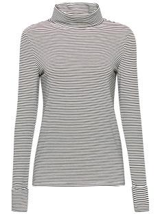 Esprit T-shirt LONGSLEEVE MET COL EN STRETCH 099EE1K006 E110