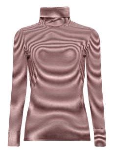 Esprit T-shirt LONGSLEEVE MET COL EN STRETCH 099EE1K006 E620