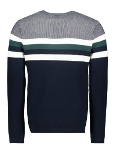 jorlarry knit crew neck 12155586 jack & jones trui sea moss/knit fit