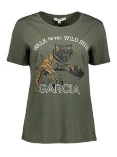 groen t shirt met opdruk i90003 garcia t-shirt 1690