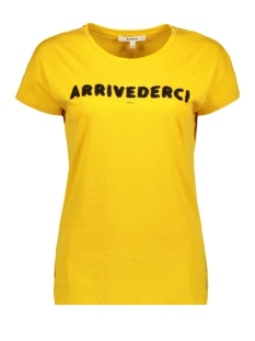 t shirt met opdruk i90007 garcia t-shirt 8120 golden rod