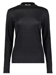 Garcia T-shirt T SHIRT MET LANGE MOUWEN I90013 60 BLACK